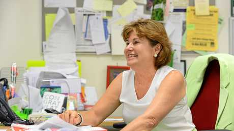 Member for Bundamba Jo-Ann Miller MP at her Goodna office.