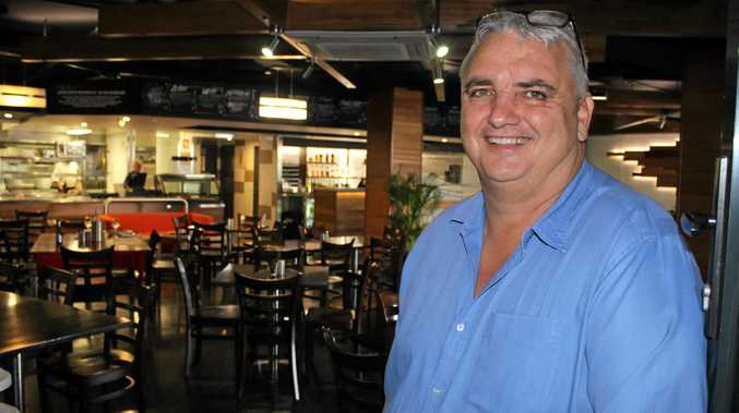 Mark 'Laffo' Laffin, who has reopened Claudies Wine Bar & Pizzeria.