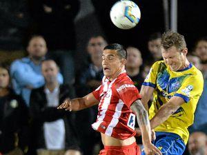 Sunshine Coast duo takes on Tim Cahill