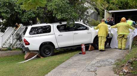 Crash on Wentworth Terrace, The Range.