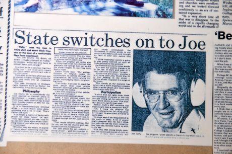 How Fr Joe made the headlines.