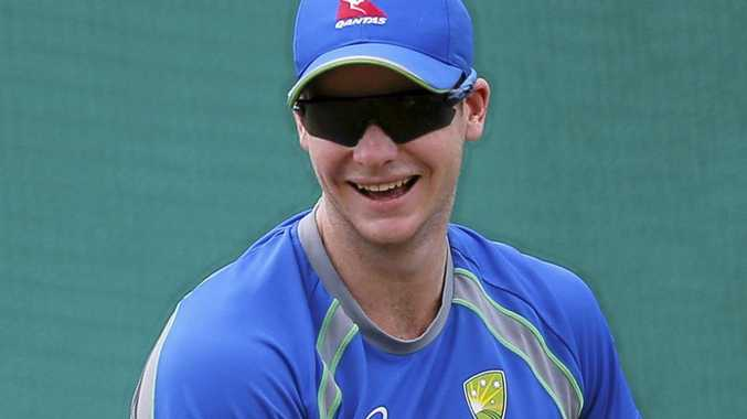 RESTING: Australian captain Steve Smith.