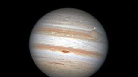 PLANETS: Planet imager John Earl captured this image of Jupiter using his 11