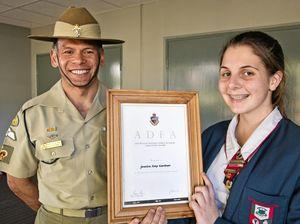 ADFA award for Jessica