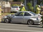 Two-vehicle crash in Toowoomba leaves man in hospital