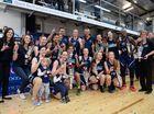 Cyclones winning team.Photo Allan Reinikka / The Morning Bulletin