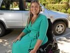 Paralympic swimmer and charity worker Marayke Jonkers has fallen on hard times, with high-profile Olympic stars rallying to get her mobile again. Marayke is raising funds to assist with her mobility. Photo: Warren Lynam / Sunshine Coast Daily