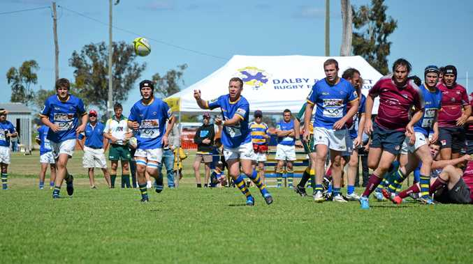 The Dalby Wheatmen B-grade v the Toowoomba Bears. Photo Alasdair Young / Dalby Herald