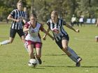 Rebecca Washbourne, Warwick and Grace McCosker, Willowburn. SWL Toowoomba Premier Semi Finals. Sunday Aug 28 , 2016.