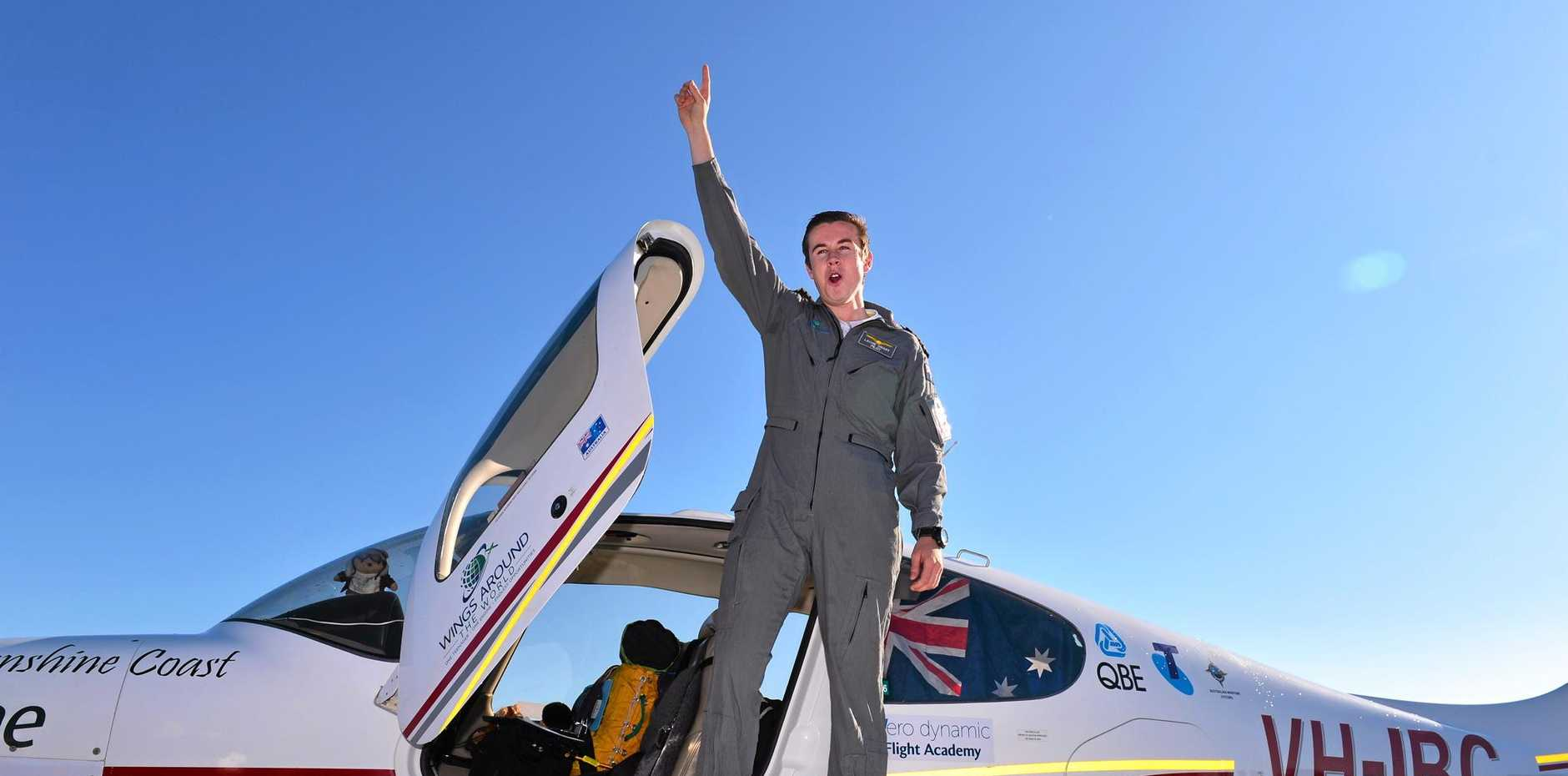 Lachie Smart was 18 years, 7 months and 21 days when he touched down on August 27 as the youngest person to circumnavigate the world by aircraft, solo.
