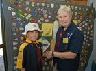Scouting in Palmwoods celebrates 100 years.Mila Shervey and Irene Underwood.