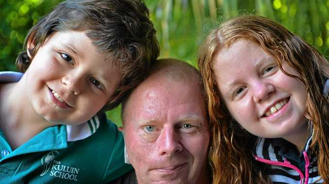 Chris Beer has spent years helping others in the community and now he has been diagnosed with cancer. The community and his children Tarquin, 10, and India, 13, are rallying support for him.