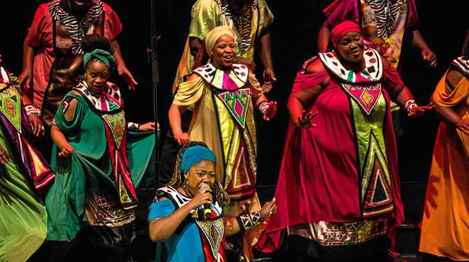 Be fast or miss seeing Shimmy and the rest of the Soweto Gospel Choir.