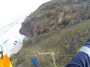 Man flown to safety after serious fall at Sunshine Beach