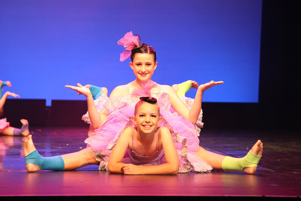 RIGHT MOVES: Dance Central students show off their poise and skill in one of the academy's shows.
