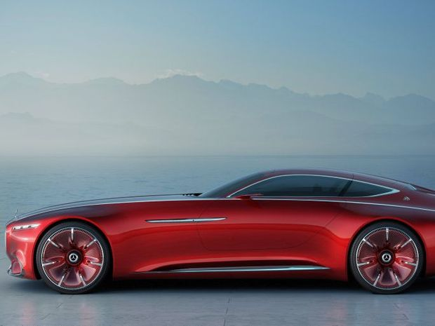GRACE AND PACE: All-electric Mercedes-Maybach concept has 550kW, hits 100kmh in under four seconds and has a range of 500 kilometres. It won't be for poor people.