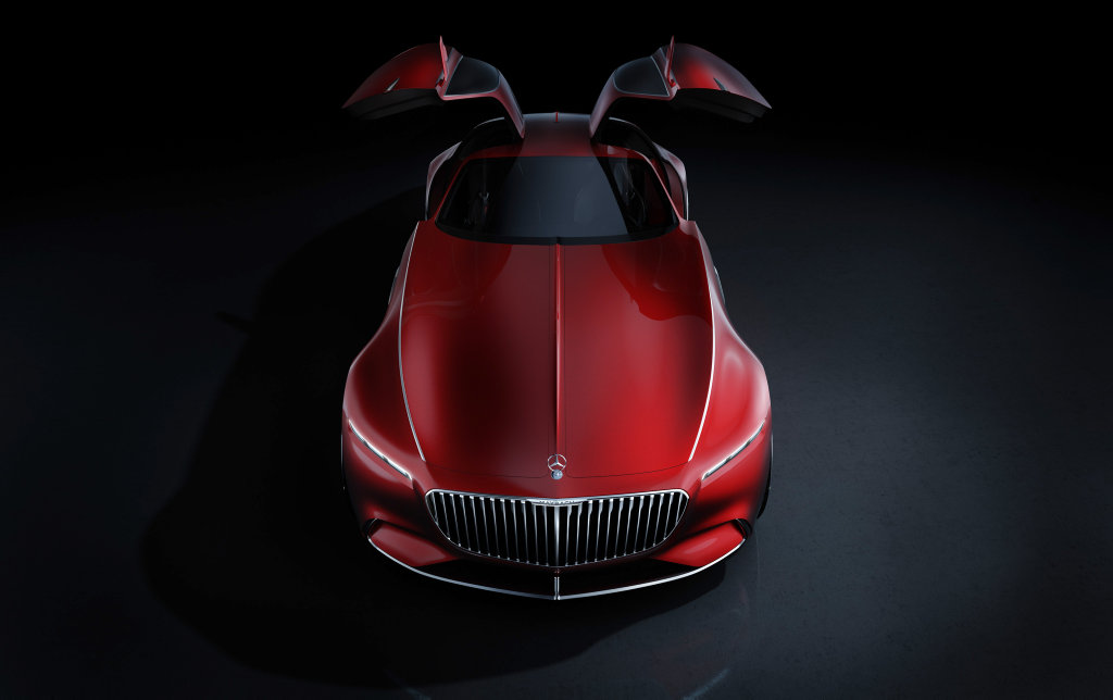 Vision Mercedes-Maybach 6. Photo: Contributed