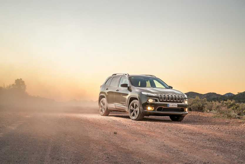 Jeep Cherokee 75th Anniversary Edition launched as part of celebrations for Jeep's 75th anniversary. Photo: Thomas Wielecki