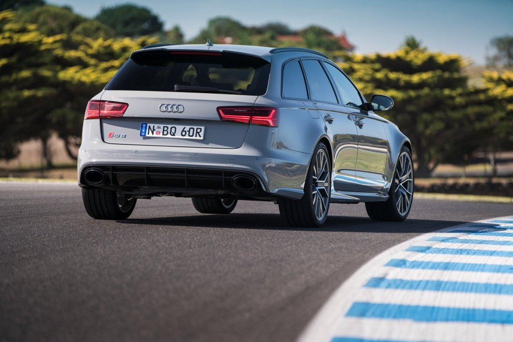 FAMILY TRACK DAY: Yes, the Audi RS 6 Avant Performance will do the daily family duties, but such is the twin-turbo V8's performance the odd track day is a must. The ton is reached in 3.7 seconds thanks to 445kW and smart quattro all-wheel drive.