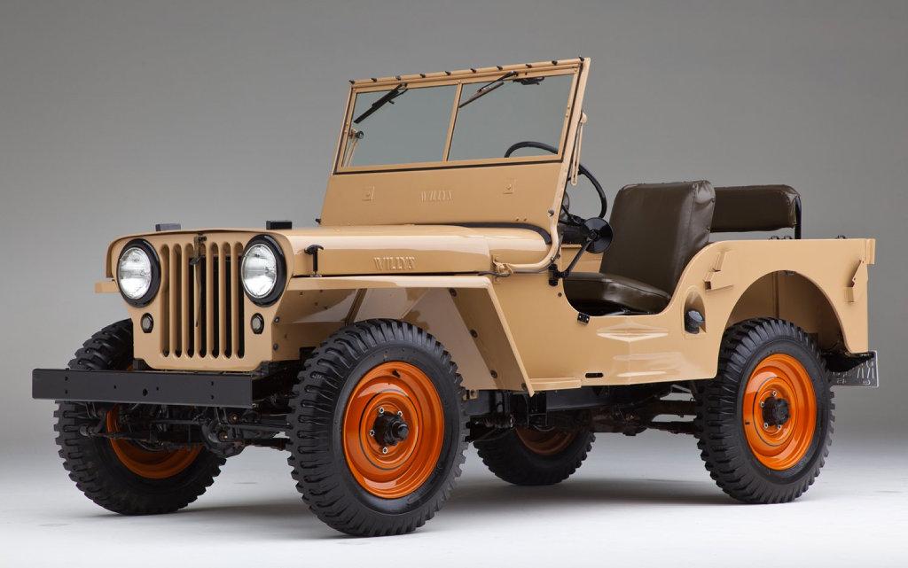 Jeep CJ-2A. Photo: Contributed.