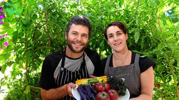 LEGENDARY LOCALS: Chris and Larissa White of Hungry Feel cafe in Buderim are celebrating 15 years in business.