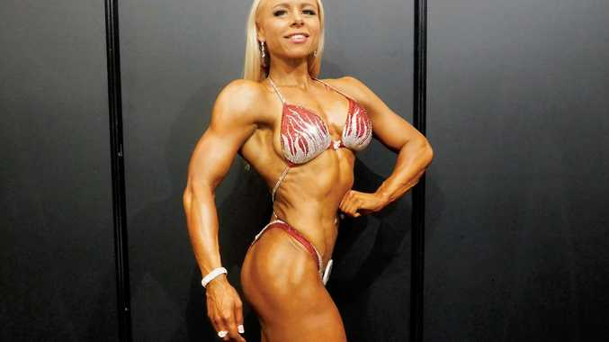 Zoe-Claire Yaworsky shows off her figure at the IFBB Arnold Classic Asia Event, she has competed in 20 competitions and is an eight time champion.