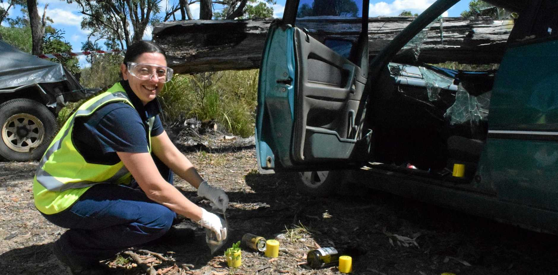SOLVING THE PUZZLE: Renee Sorbello loves the challenge of accident forensics.
