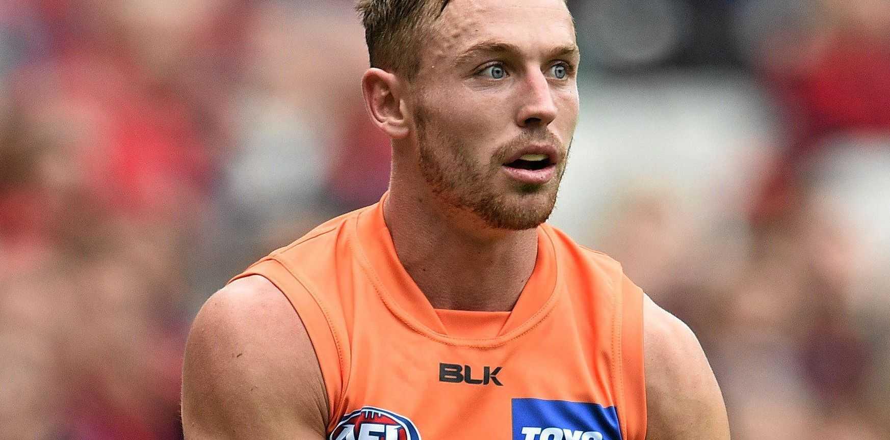 FINALS DEBUT: Greater Western Sydney Giants player Devon Smith.