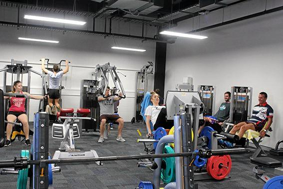 CQUniversity Mackay's new state-of-the-art training gym is located at the university's City Campus in Sydney St.