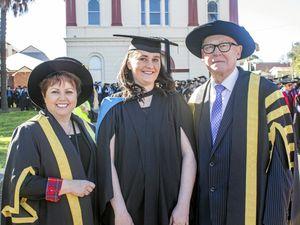 USQ graduate finds her future in health