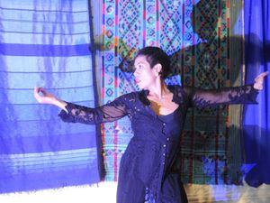 Jade Dewi performs at Material Journeys