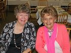 Fay Humphreys and Nancy Fry at the Seniors Week afternoon tea hosted by State Member for Aspley Tracy Davis.