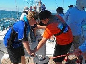 Students lucky enough to enjoy sailing 'classroom'
