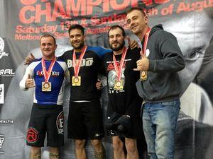 Local lads find success at national jiu jitsu championships