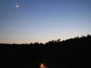 Planets align in 'star of Bethlehem' experience
