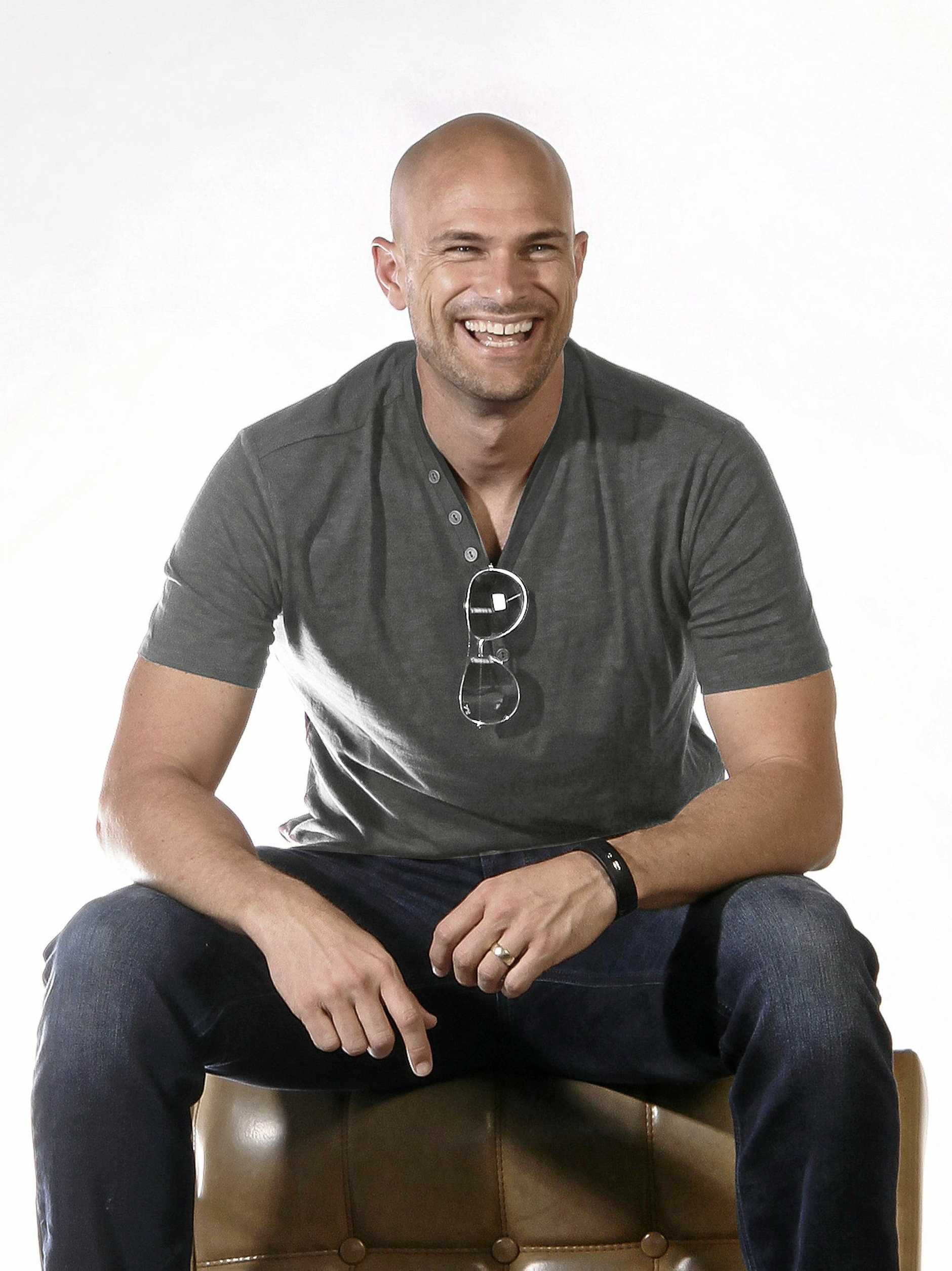 INNOVATOR: Immanuel Lutheran College graduate Judd Armstrong, 42, is the founder of wireless earphones company Jaybird.