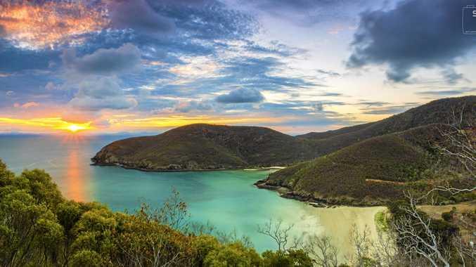 Keswick Island, 34km off the coast of Mackay.