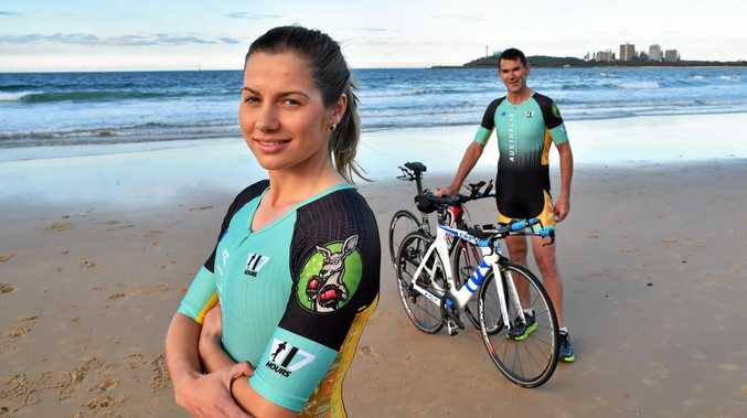 The IRONMAN 70.3 World Championship will be staged at Mooloolaba on September 4. Among the competitors will be Ash Hunter and Robbie Andrews. The swim leg of the event will be from Mooloolaba Beach.