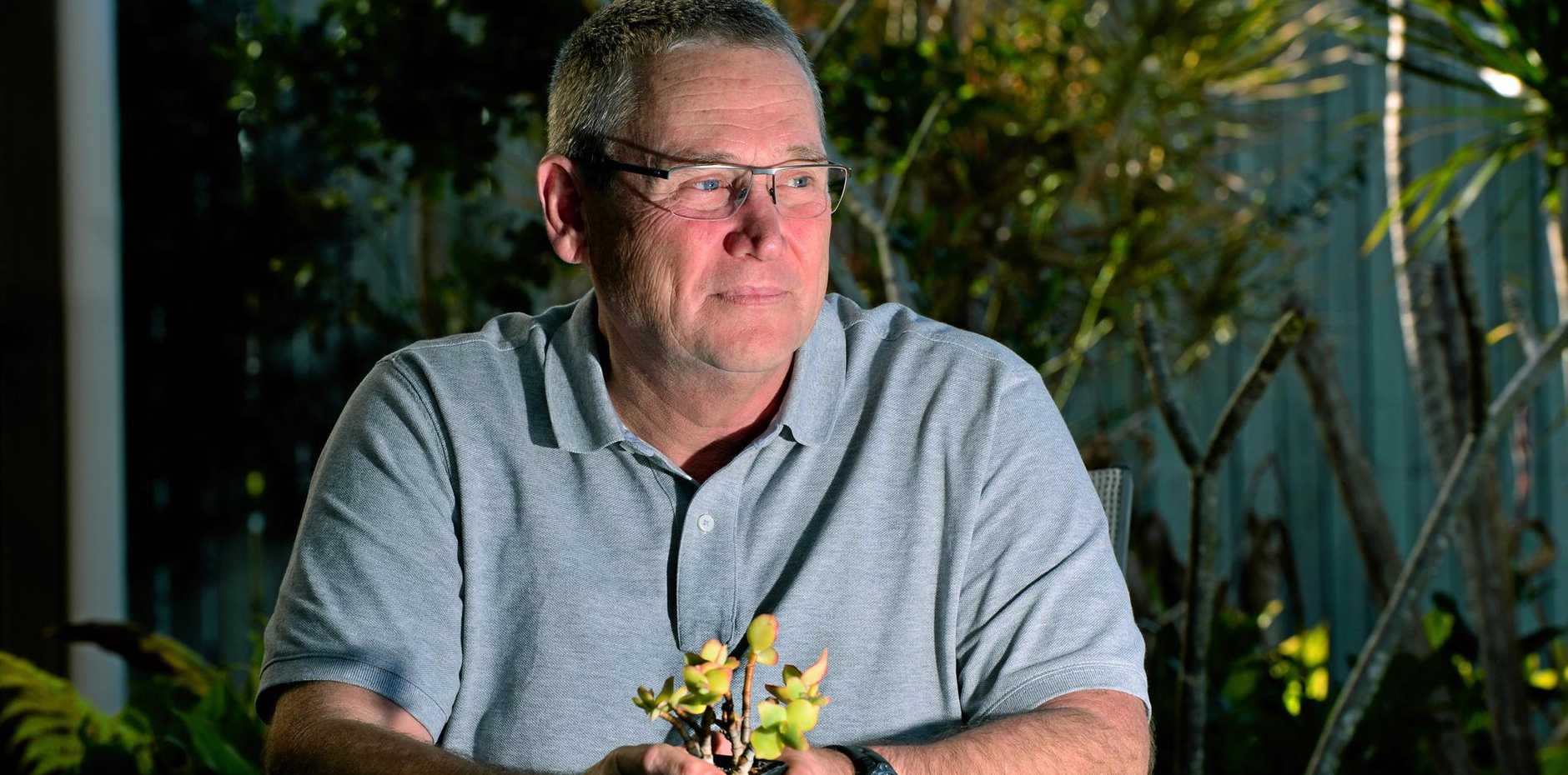 Andy Marriott lost his son to suicide and now he works to help others.  Photo: John McCutcheon / Sunshine Coast Daily