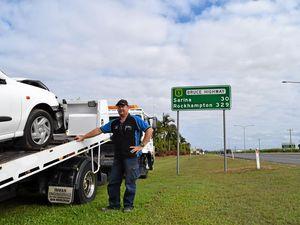 High crash rate worries Mackay towing company owner