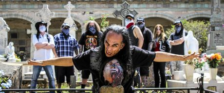 Brujeria was formed at a party in 1989 in the spirit of creating a grindcore and death metal band representative of the Latino/Chicano community. Photo Contributed