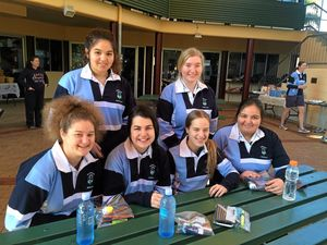 Good luck to Gympie Year 12s sitting QCS exams