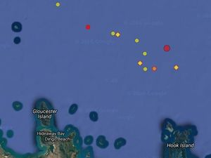 Significant aftershock strikes off Bowen