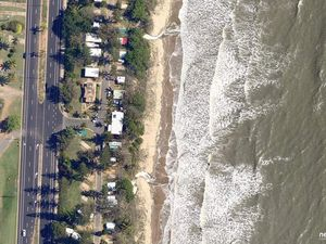 Aerial photos reveal Queensland beach erosion