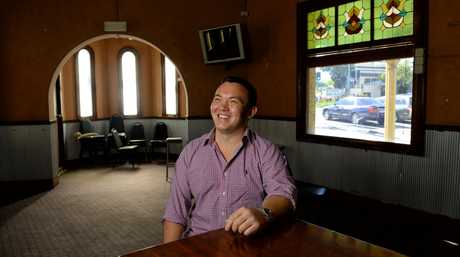 Hamish Parker has purchsed the City View Hotel and plans to turn it into a cheap accomodation venue.