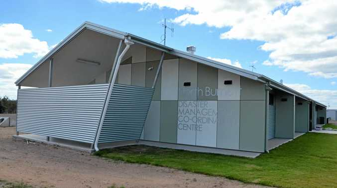 BUILT TO SURVIVE: The Disaster Management Centre in Gayndah.