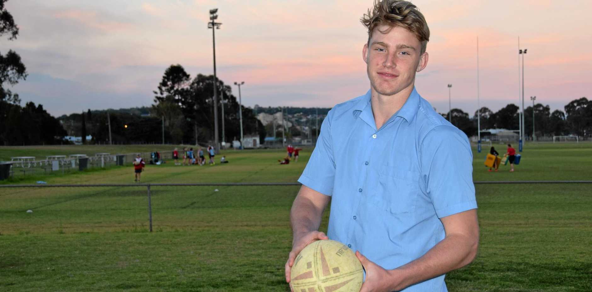 NEW RECRUIT: Kingaroy's Logan Bayliss-Brow has signed a deal with the North Queensland Cowboys.