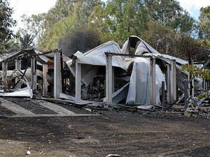 Family devastated by fire hold their heads up high