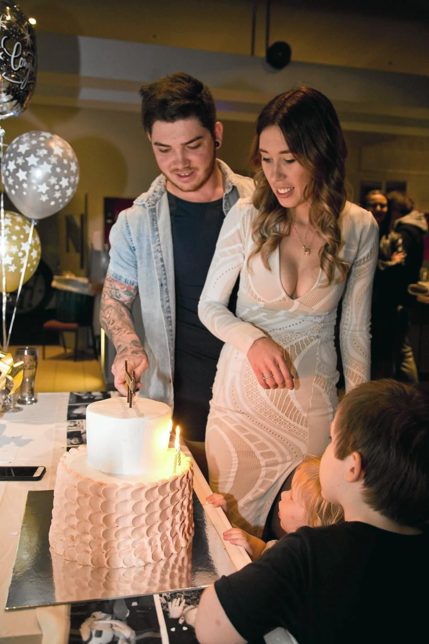 Tara Roberts and Josh Greig celebrated their engagement recently with 50 of their friends and family.