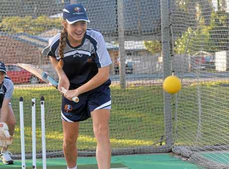 Cricketer Georgia Wright.
